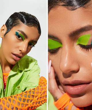 This Retro Graphic Eye Look Is Everything