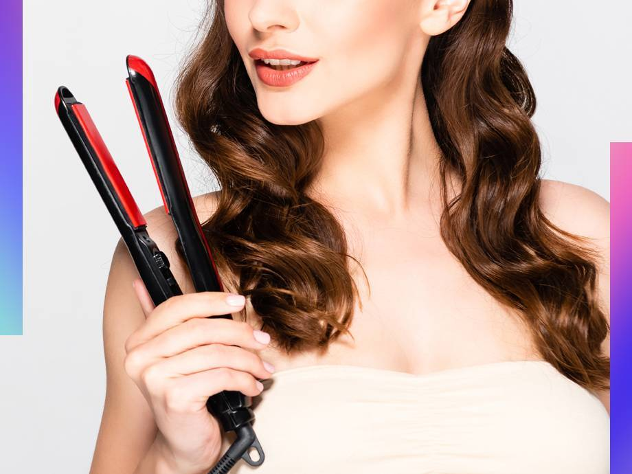 QQ: How the Heck Do You Curl Your Hair With a Flat Iron?