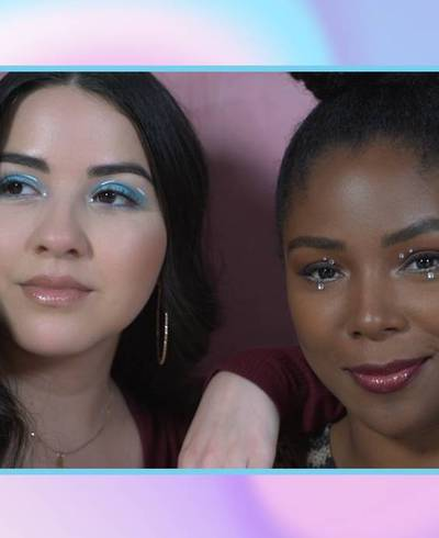 Mystery Makeup Bag Challenge: Put a 2020 Spin on a '90s Makeup Look