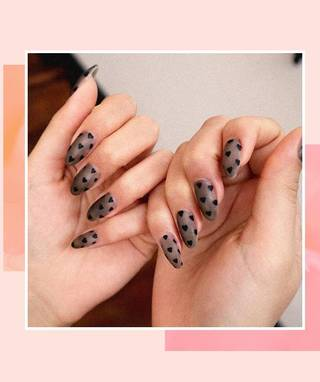 The Best Anti-Valentine's Day Nail Art to Rock if Hearts Aren't Your Thing