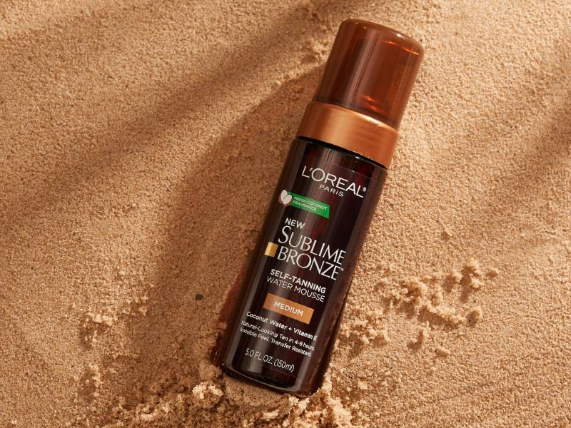 loreal-paris-sublime-bronze-self-tanning-water-mousse-review