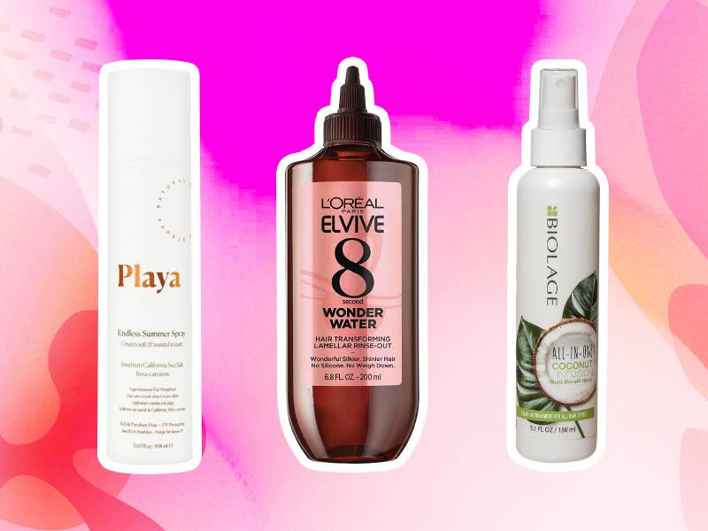 hair products for the beach