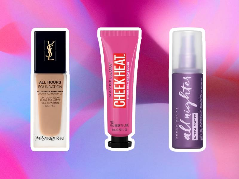 sweat proof makeup products