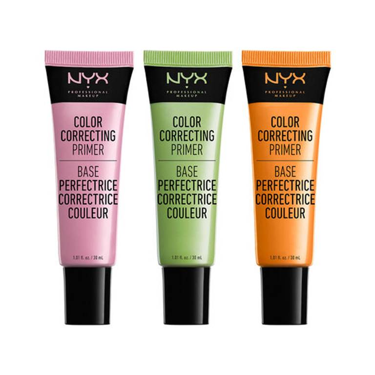nyx color correcting primers