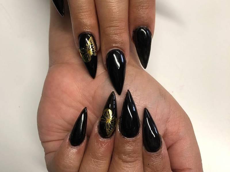 Best Black Acrylic Nail Ideas Makeup Com