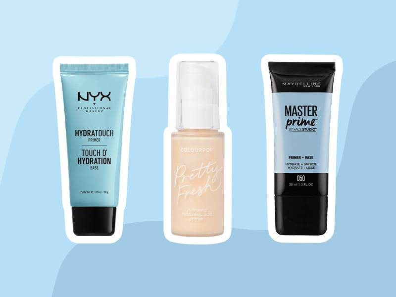 Affordable Makeup Primers With Hyaluronic Acid