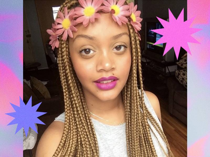Beauty Q&A: Do Larger Box Braids Equal Less Tension?