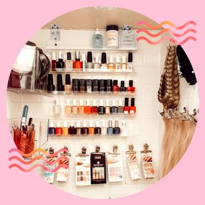 Nail Polish Storage Hacks